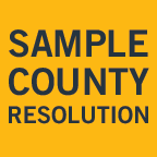 Sample Counties Resolution